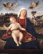 CARPACCIO, Vittore Madonna and Blessing Child fdg oil painting picture wholesale